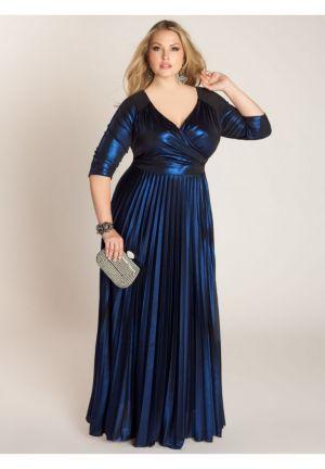 Antoinette Gown in Lapis
