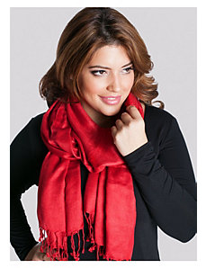 Pashmina Scarf in Ruby by IGIGI