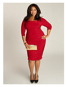 Felina Dress in Crimson by IGIGI