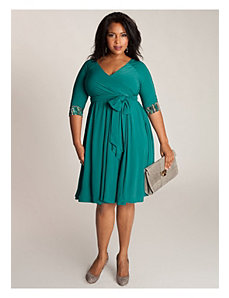 Jaqueline 2-in-1 Dress in Jade by IGIGI by Yuliya Raquel