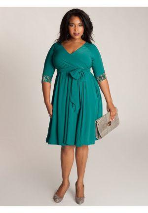 Jaqueline 2-in-1 Dress in Jade