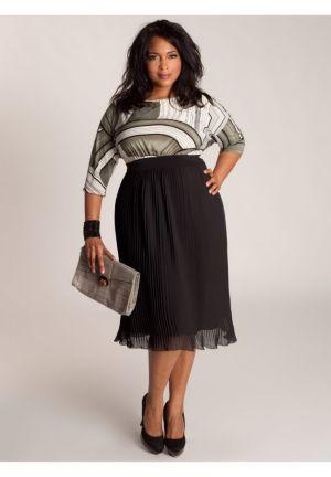 Cece Plisse Dress