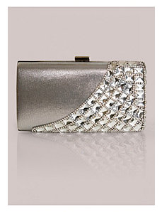 Holly Clutch in Silver by IGIGI by Yuliya Raquel