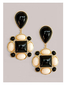 Tory Earrings in Onyx by IGIGI by Yuliya Raquel