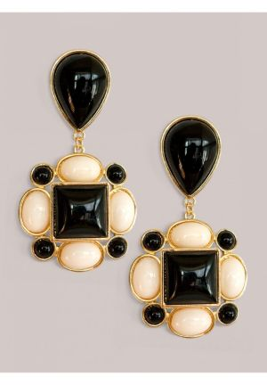 Tory Earrings in Onyx