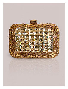 Kirsten Clutch in Gold by IGIGI by Yuliya Raquel