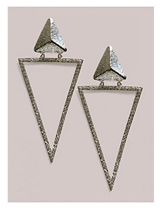 Kesha Earrings in Silver by IGIGI by Yuliya Raquel
