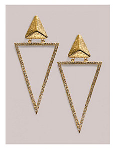 Kesha Earrings in Gold by IGIGI by Yuliya Raquel