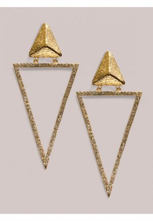 Kesha Earrings in Gold