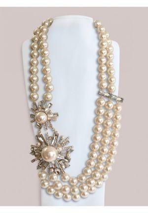 Briar Necklace in Cream
