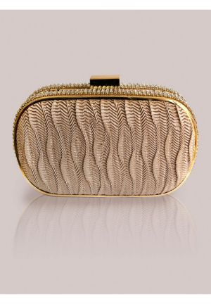 Rita Clutch in Gold