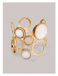 Abby Cuff in White by IGIGI by Yuliya Raquel