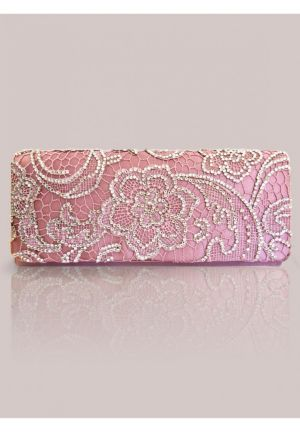 Winona Clutch in Petal