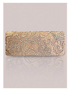 Winona Clutch in Gold by IGIGI by Yuliya Raquel