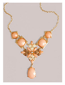 Satine Necklace in Coral by IGIGI by Yuliya Raquel
