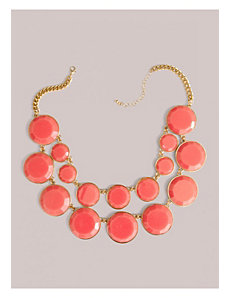 Stassi Necklace in Coral by IGIGI by Yuliya Raquel
