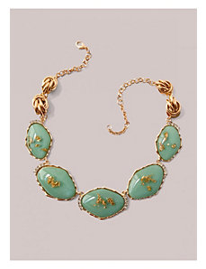 Megan Necklace in Mint by IGIGI by Yuliya Raquel