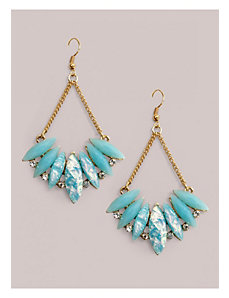 Lois Earrings in Blue Opal by IGIGI by Yuliya Raquel
