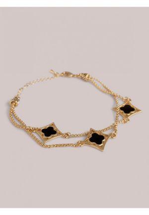 Portia Bracelet in Onyx