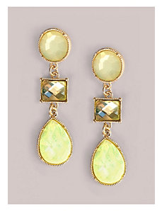 Angela Earrings in Lemon by IGIGI by Yuliya Raquel