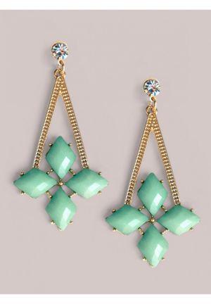 Brandi Earrings in Mint
