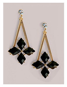 Brandi Earrings in Onyx by IGIGI by Yuliya Raquel