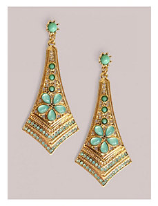Ryder Earrings in Mint by IGIGI by Yuliya Raquel