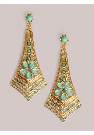 Ryder Earrings in Mint