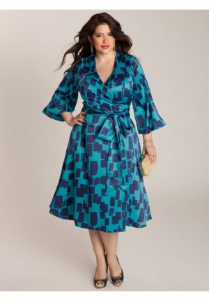 Carmelle Wrap Dress
