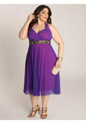 Victoria Plisse Dress