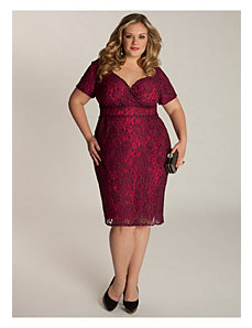 Melina Dress in Berry by IGIGI
