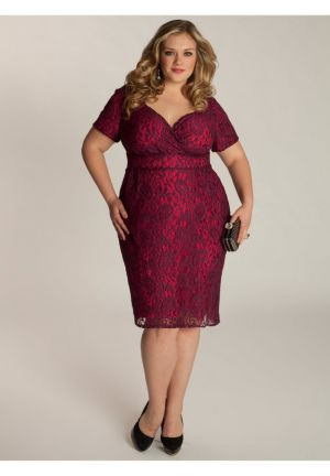 Melina Dress in Berry