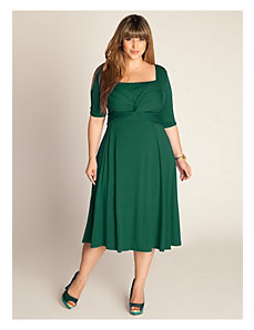Tiffany Dress in Hunter Green by IGIGI by Yuliya Raquel