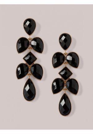 Tammi Earrings in Onyx