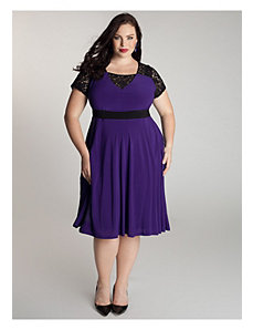 Chantelle Dress in Heliotrope by IGIGI