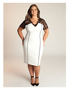 Denise Dress in Ivory by IGIGI