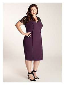 Denise Dress in Plum by IGIGI