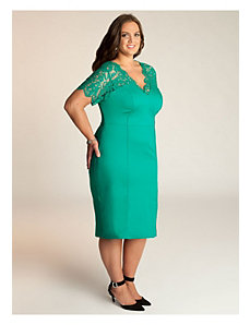 Denise Dress in Mint Jade by IGIGI