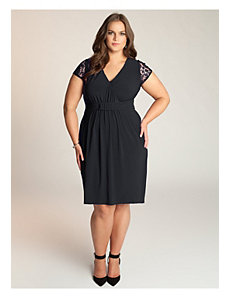 Virginia Dress in Black by IGIGI
