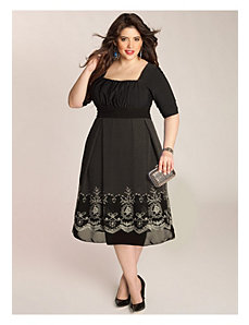 Hayleigh Dress in Black by IGIGI