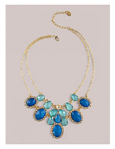 Lindsey Necklace in Aqua by IGIGI