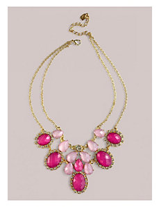 Lindsey Necklace in Magenta by IGIGI