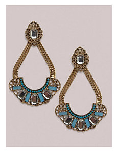 Alma Earrings in Aqua by IGIGI