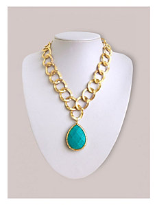 Mikayla Necklace in Turquoise by IGIGI