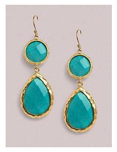 Mckenzie Earrings in Turquoise by IGIGI