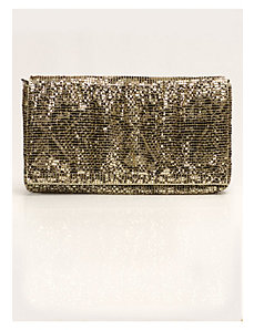 Johanna Clutch in Gold by IGIGI