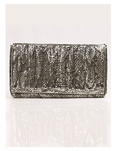 Johanna Clutch in Silver by IGIGI