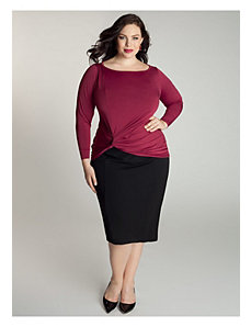 Condessa Top In Raspberry by IGIGI