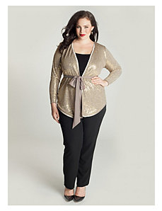 Veronetta Cardigan in Oro by IGIGI