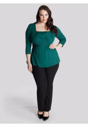 Luella Infinity Tunic in Emerald